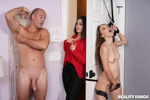 Sneaky Sex Izzy Lush, Sean Lawless Knock Knock Porn Video 2018 .