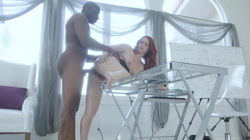 Black and Ginger best interracial porn movie