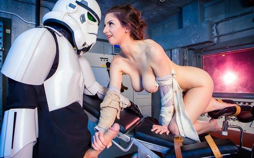 Stella Cox In Star Wars The Force Awakens A XXX Parody HD.