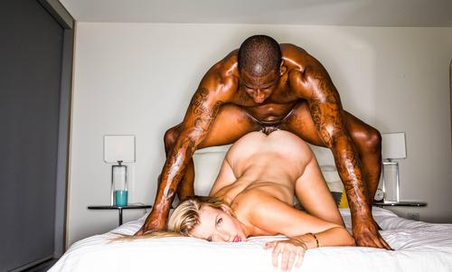 Sexy Blonde With Big Ass Mia Melano Interracial Sex HD .