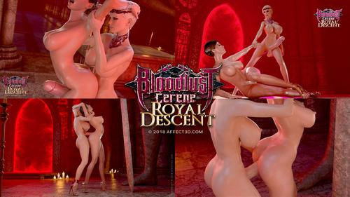 Hentai Porn 3D Bloodlust Cerene Royal Descent Part Two HD.