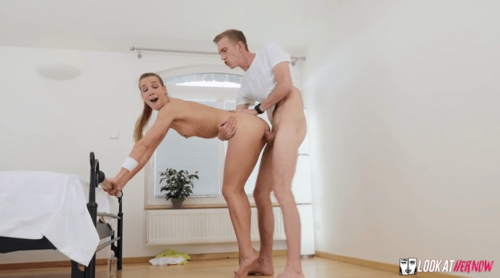 Stunning Hot Babe Fucked In Ass By A Huge White Cock Guy HD.