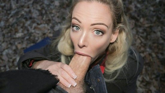 Hot Blonde With Tight Pussy Fuck A Big Cock For Money.