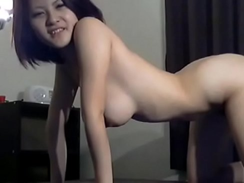 Hot Asian With Big Tits Fuck A Big White Cock HD.