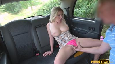 Stunning Hot Big Tits Milf Fuck A Big Cock In The Car.