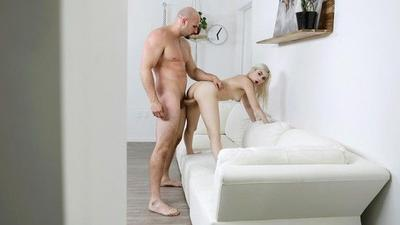 Hot Petite Blonde Fuck Hard A Big Cock.