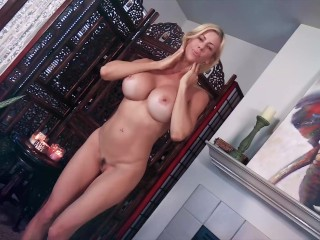Super Hot Milf With Big Tits Fucks A Big Cock.