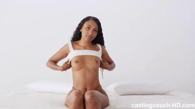 Hot Amateur Beauty Fucks A Huge Black Cock.