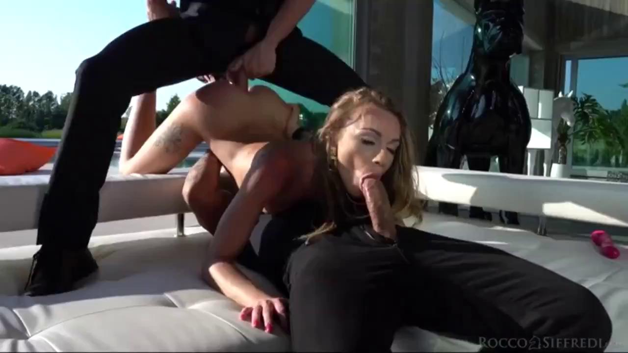 Hot Petite Pornstar Destroyed By Two Big Dick.