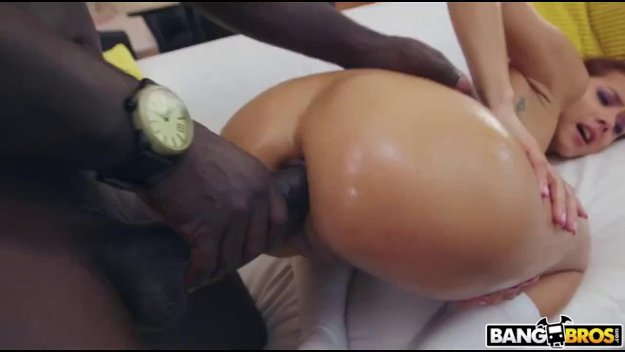 Tiny Latina Teen Destroyed By A Huge Black Cock.