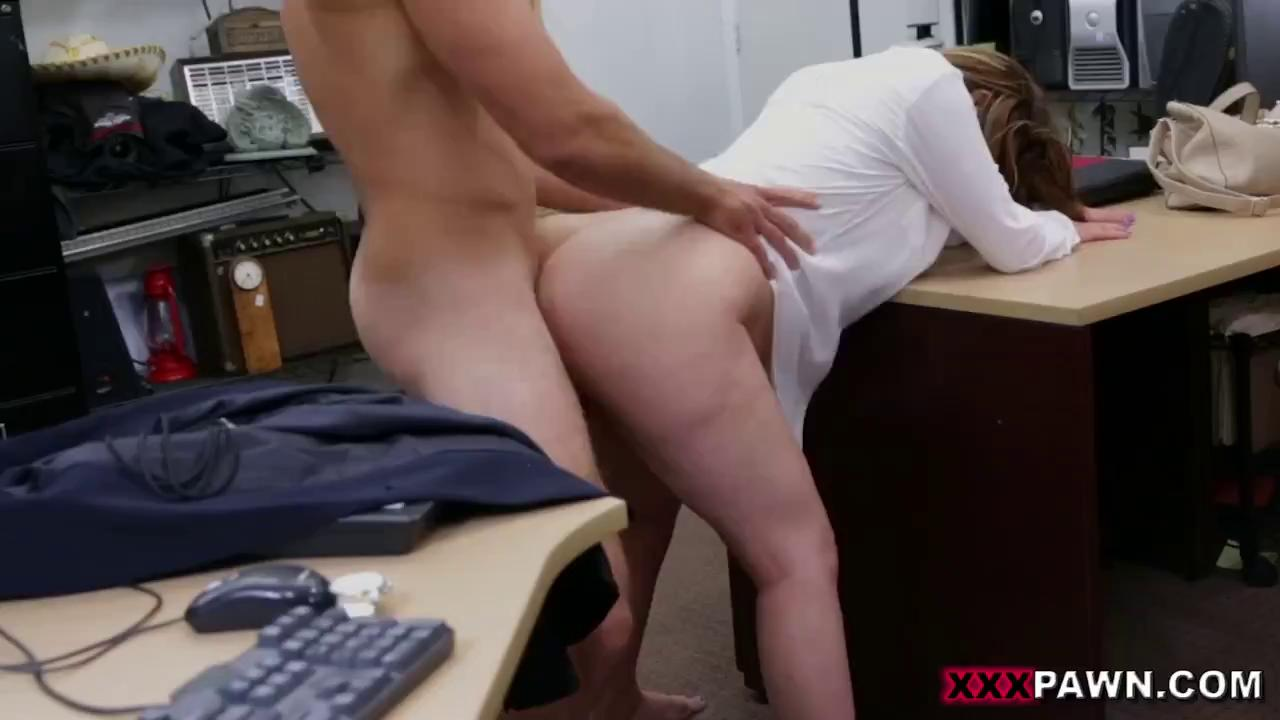 Hot Business Lady Fucks A Huge Cock For Money.