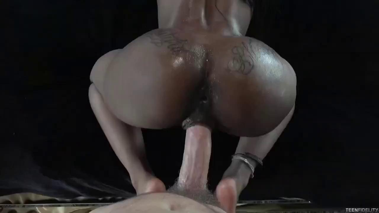 Very Hot Ass Black Pornstar Fucks Hard A White Cock.